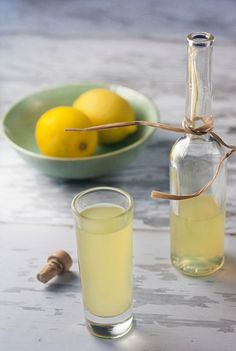 homemade Limoncello! I'll have to remember to start this in Feb so it'll be ready in March for me ;)