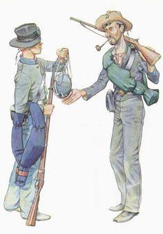 CS Infantry uniforms