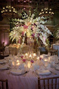 We love the subtle elegance of this table setting. Weddings Wedding Willard Table Centerpiece DC vintage