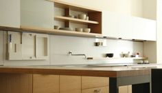 Custom kitchen systems by Henrybuilt kitchen shelving