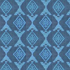 Native Sun - blue fabric by materialsgirl on Spoonflower - custom fabric