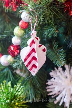 Budget-friendly DIY Christmas Tree Paper Ornaments