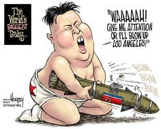 North Korea have been in the news lately over nuclear war. Many hope China can talk North Korea out of the situation.