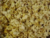 Home made kettle corn. Has to be cheaper than buying it already made. Allison and I ate a whole bag today.