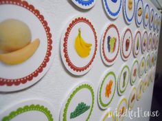 Lunch magnets- let the kids decide what to pack