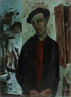 Le pêcheur auteur Gaston Larrieu année 1953