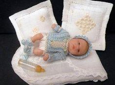 Dollhouse Dolls, Miniature Dolls, Dollhouse Miniatures, Polymer Clay Dolls, Polymer Clay Miniatures, Reborn Toddler Girl, Doll House People, Nursery Toys, Barbie Sisters