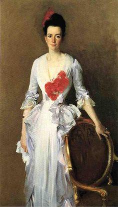 Mrs. Archibald Douglas Dick (nee Isabelle Parrott) 1886. John Singer Sargent