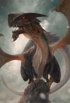 dragons in last memories, Lee Kent on ArtStation at https://www.artstation.com/artwork/dragons-in-last-memories