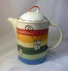 Teekanne Lisa von schuetzkeramik via dawanda.com