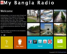 Complete new makeover for mybanglaradio.com