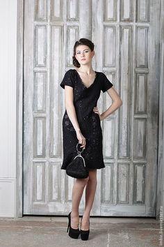 Купить Маленькое Черное Платье (продано) - черный, платье вечернее, платье коктейльное, Платье нарядное