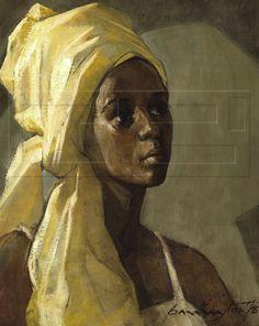 Barrington Watson as History Painter Black Women Art, Black Art, Art Women, Jamaican Art, Renaissance Artists, Harlem Renaissance, African Paintings, Caribbean Art, Afro Art