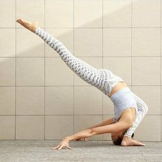 headstand variation | yoga