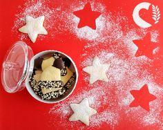 paneamoreceliachia: Biscotti di frolla senza glutine (versione di Natale!)