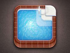 Swimming Pool iOS Icon