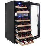 #9: AKDY 21 Bottle Dual Zone Thermoelectric Freestanding Wine Cooler Cellar Chiller Refrigerator Fridge Quiet Operation with Wooden Shevles http://ift.tt/2cmJ2tB https://youtu.be/3A2NV6jAuzc