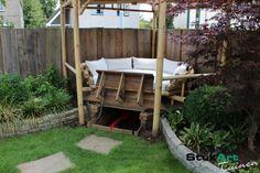 Tuin met gazeebo hoofddorp particuliere tuinen impressies - StukArt Tuinen - Uw creatieve partner in groen