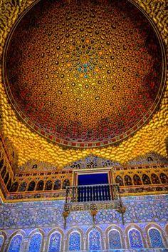 Royal Alcazars of Sevilla Seville, Spain   by mbell1975