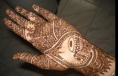 bridal henna with musical instruments! #music #tattoo