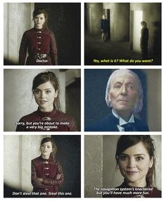 Can we just stop for a moment & appreciate the fact that there is a version of Clara that is Time Lord?