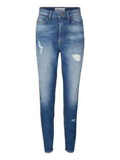 Distressed jeans from VERO MODA. We love the denim look.