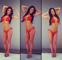 Fitness inspiration on pinterest eva marie total divas - Diva my body your body ...