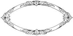 wedding oval frame - Bing images