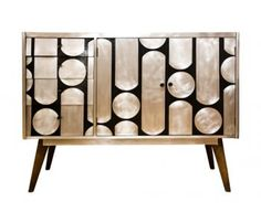 1950's Upcycled Sideboard by Kate Noakes at The Old Cinema http://www.theoldcinema.co.uk/