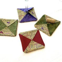 Wine Fabric Coasters Wine Drinker Gift Friend Gift Idea