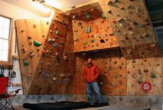 Building A Home Bouldering Wall Is Not An Inexpensive Thing To Do However The Benefits It Brings You Usually Outlast Any Monetary Investment