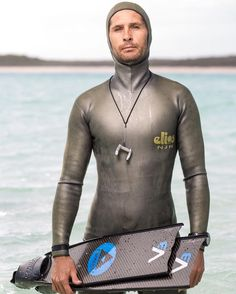 Exclusive New Series! #FacesOfFreediving: Jonathan Sunnex (New Zealand) @johnnydeep110 #VerticalBlue #2016 Edition photo by @TimCalver #freediving #portrait #photography #vb2016 #deansbluehole #bahamas #deeperbluephoto http://ift.tt/1Tj8PjI
