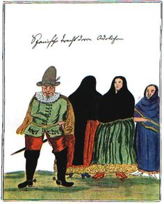 Florian Paucke, vecinos españoles, S. XVIII