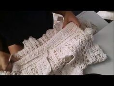 Parte 1 - Vestido Grazi Massafera Crochê - YouTube