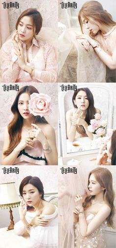 Red Velvet are pretty as flowers in 'CELEBRITY' | allkpop.com