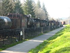 old photos of Snoqualmie Washington | Steam Loco Graveyard in Snoqualmie Falls, WA