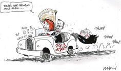 There's That Thumping Noise Again, Alan Moir, SMH.    Saturday, 15 September 2012.