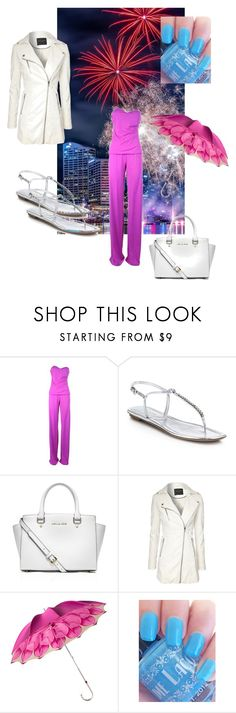 """""""53. July 6th"""" by kristina-lindstrom ❤ liked on Polyvore featuring Fisico, Prada, MICHAEL Michael Kors, Jane Norman and Persol"""
