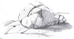 John Muir Laws - How to draw rocks