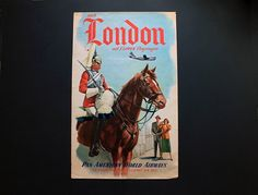 Vintage1951 Pan American World Airlines London Tourism by Circa810