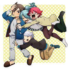 They're worried about u Mark lolx so cute! Anime Neko, Anime Manga, Cute Anime Guys, Hot Anime Boy, Fire Emblem, Friend Anime, Inazuma Eleven Go, Boy Art, Noragami