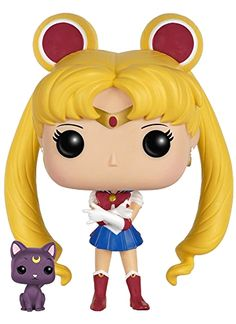 Official Sailor Moon Funko Pop! Figure! More images and shopping links here http://www.moonkitty.net/buy-sailor-moon-funko-pop.php