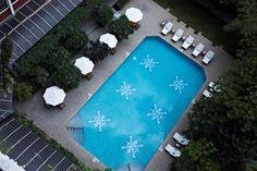 The pool is calling! #vivantabytaj #vivanta #bangalore #mgroad #poolside #relax #leisure #pool