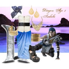 Dragon Age 2 - Isabela Inspired by lostfallen-angel on Polyvore featuring Full Tilt, Clu, Charlotte Russe, H&M, AX Paris, Kasturjewels, Linea Pelle, Hive & Honey, isabela and dragon age