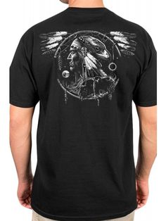 Tat Daddy Men's Spirit Catcher T-Shirt - Black