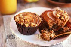 Receta: muffins de espelta germinada y pera!! Ideal como desayuno o merienda