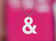 How About Orange: DIY shrink plastic typography pendants