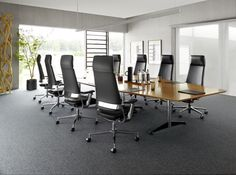 Klöber Connex2 highback conference chairs