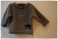 Modèle n°15 du Tricotez Calin de Phildar, automne-hiver 2008 by Miss grain de sel - pour Martin !