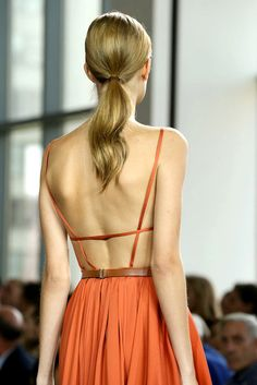 Just a peek at a few different pieces that caught my eye from the Jason Wu Spring'15 RTW...